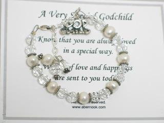 Keepsake Godchild Gift Bracelet