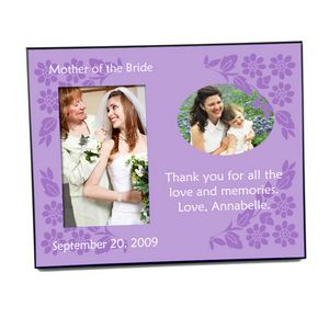 Mother of the Bride Gift Frame from abernook.com