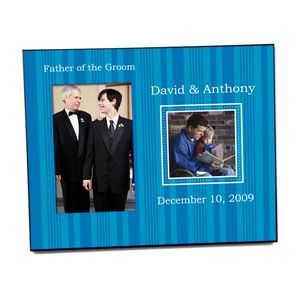 Father Wedding Photo Frame