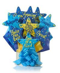 All Star Dad Cookie Gift Bouquet