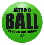 Happy Birthday Ball Gift