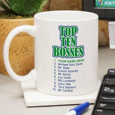 Top Ten Bosses Mug