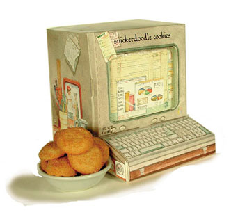 Snickerdoodle Computer Cookies from abernook.com