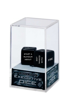 Executive Dice from abernook.com