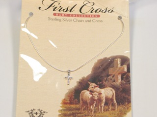 Baby's First Cross Necklace