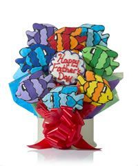Father's Day Fish Cookie Gift Bouquet