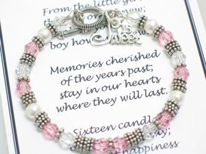 16th Birthday Bracelet Sweet 16 Gift