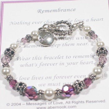 MOL Jewelry Remembrance Comfort Bracelet