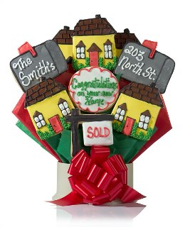 Hearty Housewarming Cookie Gift Bouquet