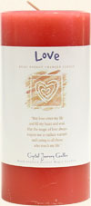 Love Pillar Candle