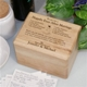 Engraved Family Recipes Personalized Recipe Box from abernook.com