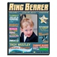 "Hell feel like the star of the show when he sees his photo in the center of our charming Personalized Ring Bearer Magazine Frame! A terrific way to honor the littlest member of the wedding party, this frame resembles a real magazine cover, complete with ""articles"" and colorful decoration. Personalization includes ring bearers name and date of the event. Adorable! Frame measures 8""x 10"" and holds a 4"" x 6"" picture."