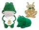 "Unique and fun! ""In The Box"" Dazzling Pendants. Bright and sparkling necklaces in the most adorable & cute boxes!  * Frog pendant with genuine European crystals  * 18 kt. gold finish"