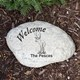 Any deer lover and outdoor enthusiast will appreciate a realistic Deer Garden Stone to display at their home or cabin. Your Engraved Garden Stone is made of durable resin and has a real stone look. Lightweight & waterproof. We will engrave the garden stone with any one line custom message.
