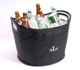 "With enough space for a few six-packs of your favorite beverages, our personalized Party Hearty Tub is perfect for intimate get-togethers with several of your closest friends. The soft-sided cooler tub with large handles is easy to carry and toting it won't strain your back. Waterproof and easy to store, the Party Hearty tub can be personalized with the initials of the owner. Measures 11"" x 17"". Embroidered with three-letter monogram (first initial, last initial, middle initial)"