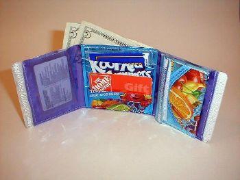 Kool-Aid Tri Fold Wallet