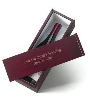 Personalized Wine Box from abernook.com